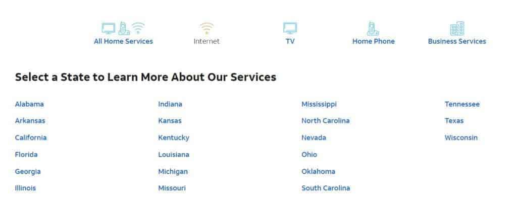 att internet coverage