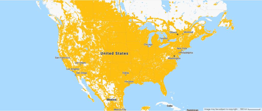Sprint coverage